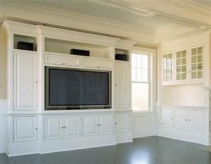 How To Build An Entertainment Center With Stock Cabinets