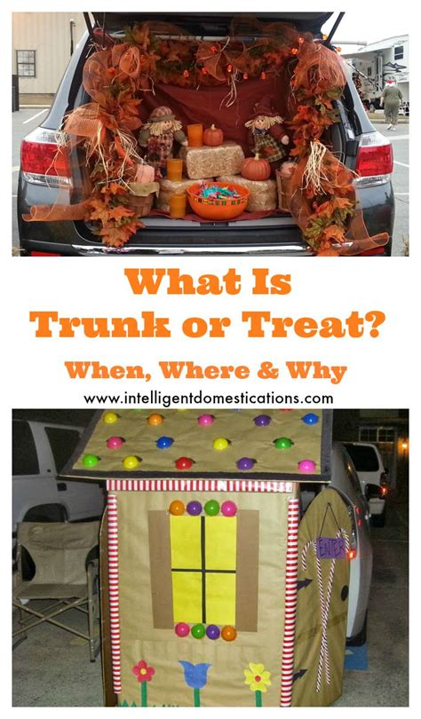 halloween trunk  treat fall festival