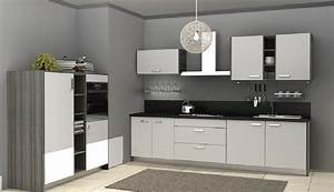 Grey kitchen cabinets with walls quicua