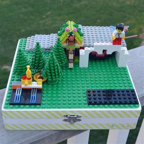 diy lego trays  organization ideas