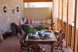 Terrasse gestalten 10 einrichtungsideen fur veranda for Terrasse mediterran gestalten