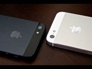 Apple iPhone 5 Black and Slate VS White and Silver ...