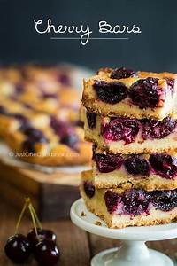 Cherry Bars | Recipe | Cherry desserts, Summer and Easy ...