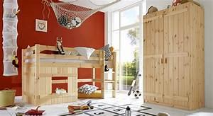 Komplett Kinderzimmer Aus Kiefer Massiv Kids Paradise