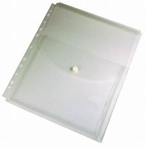 china pp button clear holder china document holder With clear document holder