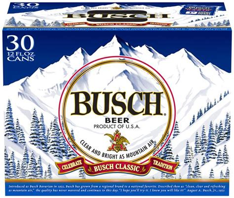 Busch Light 30 Pack Price by Busch 30 Pack Hy Vee Aisles Grocery Shopping