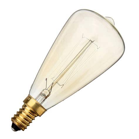 e14 40w incandescent bulb 220v st48 retro edison light