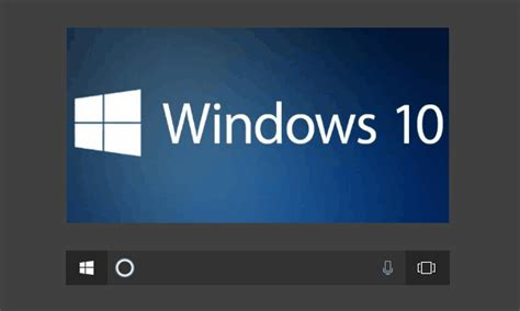 how to remove default text of cortana in windows 10