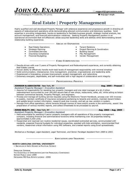 Apartment Manager Resumeapartment Manager Resume by Property Manager Resume Sle Http Resumesdesign