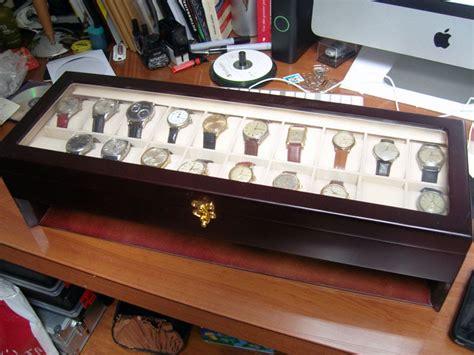 boite pour ranger les montres mes montres une boite pour ranger la collection