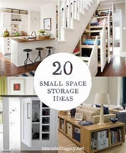 20, Small, Space, Storage, Ideas