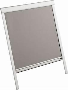Store Pour Fenetre De Toit : store occultant gris pour fen tre de toit l78xh98cm bricoman ~ Edinachiropracticcenter.com Idées de Décoration