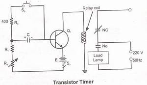 transistor timer With 2a solid state relay circuit diagram as well solid state relay circuit