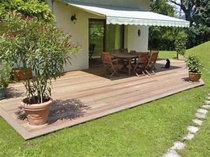 idees de terrasse temporaire notre maison rt2012 par With exemple de maison neuve 10 le prix de lenrobe pour son allee