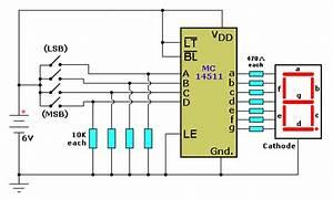Mc14511 Schematic Diagram