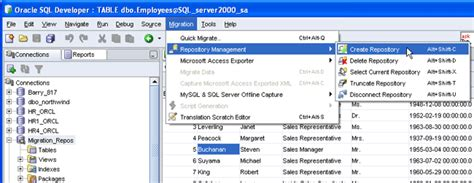 Moving To An Oracle Database