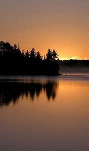 Sunset Lake Mist Smartphone Wallpapers HD ⋆ GetPhotos