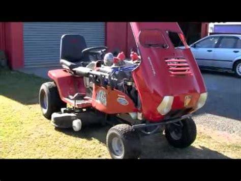 big block chevy lawnmower road test funnycat tv