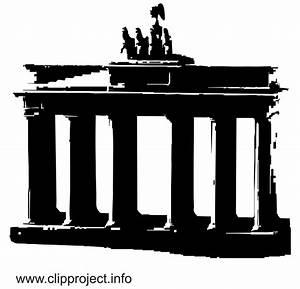 Berlin Schwarz Weiß Bilder : berlin clipart brandenburger tor ~ Bigdaddyawards.com Haus und Dekorationen