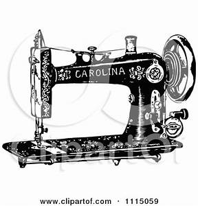 Antique Sewing Clipart (32+)