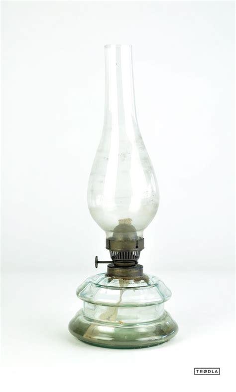 Alte Lenschirme Aus Glas by Alte Petroleumle Aus Glas 1920 30er Le Glass