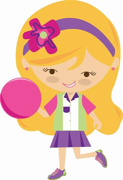 Bowling Clipart Girly Clip Number Pretty Transparent