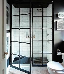 Modele Salle De Bain Carrelage : modele carrelage salle de bain noir et blanc ~ Premium-room.com Idées de Décoration