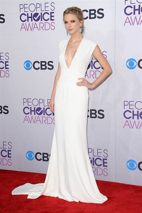 Taylor Swift White Prom Dress Peoples Choice - Xdressy