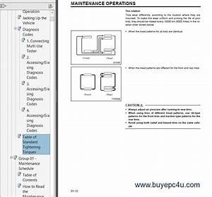 Mitsubishi Fuso 2005 Service Manual