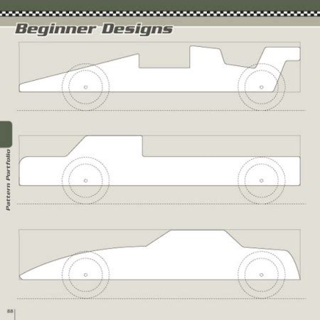 free pinewood derby car templates book review pinewood derby designs patterns toolmonger
