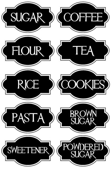 Kitchen Canister Labels by The 25 Best Kitchen Canisters Ideas On