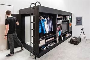 Kleiderschrank Für Kleine Räume : 13 geniale kleiderschrank ideen f r kleine r ume ~ Bigdaddyawards.com Haus und Dekorationen