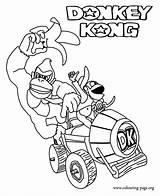 Kong Donkey Coloring Pages Printable Colouring Diddy Malvorlagen Malbuch Fuer Ausmalbilder Kinder Und sketch template