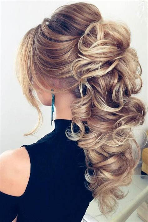 15 best collection of long hairstyles evening