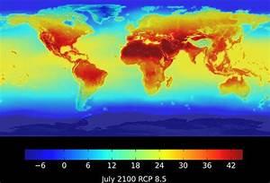 GLOBAL WARMING: NASA map shows BLISTERING daily heat of ...