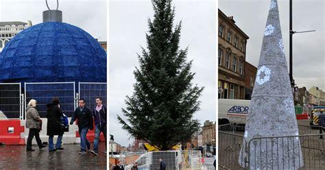 new stockton christmas tree sparks festive spirit after