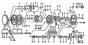 Shakespeare Bc5400 Parts List And Diagram