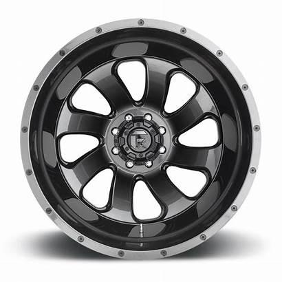 Dually Flow Wheels Rear Fuel Lug Gloss