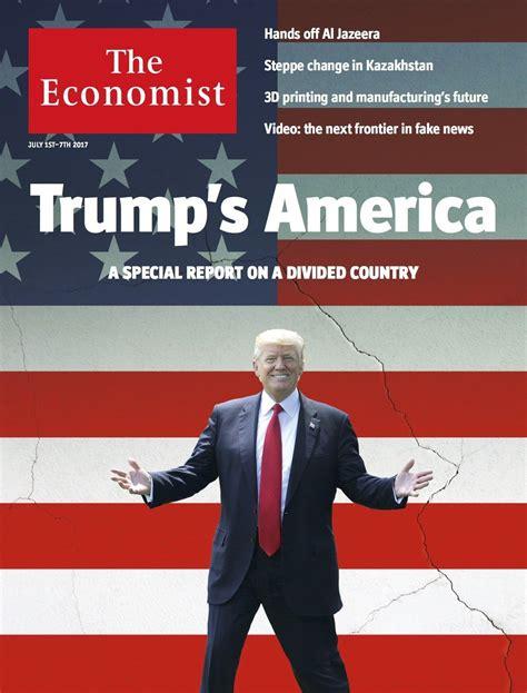 economist trump covers america magazine politics normal edition july return presidency trumps wait long president visual history jul american paralysed