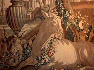 'Io and Zeus' Flemish Tapestry, Brussels 18th Century at