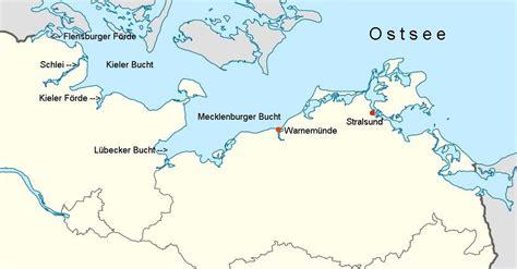 Karte Nordsee Ostsee