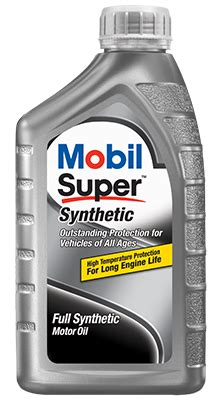 Synthetic Oil  Mobil™ Motor Oils