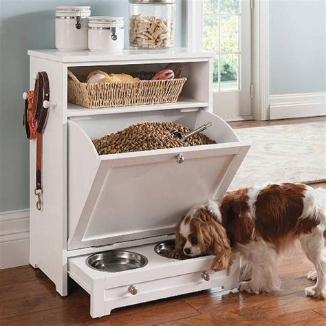 pet feeder station 8 stylish storage ideas for dogs
