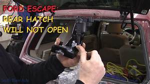 Ford Escape  Rear Hatch Latch Repair