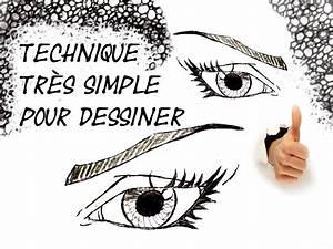 Dessin Facile Yeux : comment dessiner des yeux pour les d butant dessiner un il facile simple youtube ~ Melissatoandfro.com Idées de Décoration