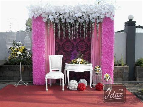 dekor foto booth dekor photo booth pernikahan