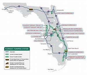 Florida Map Turnpike