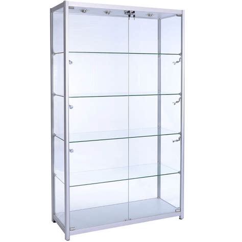 Display Cabinet by Cheap Lockable Glass Display Cabinets Cabinets Matttroy
