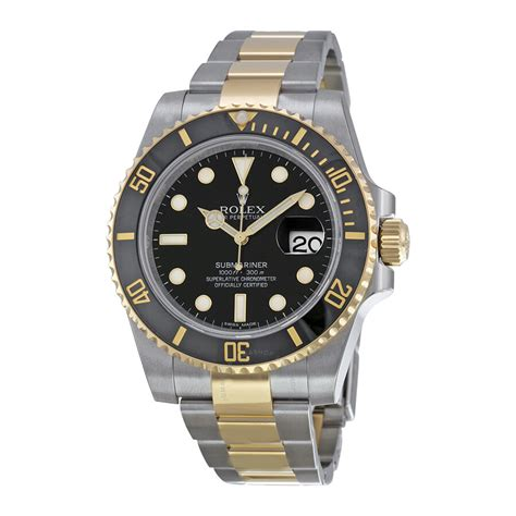 Rolex Pre-owned Rolex Submariner Black Dial 40mm Steel And ...