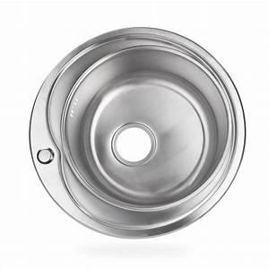 Küchenspüle Keramik Oder Edelstahl : edelstahl einbausp le ronda2 waschbecken sp le k chensp le rund ~ Markanthonyermac.com Haus und Dekorationen